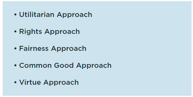 five-ethical-approaches
