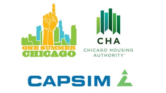 Logos: Chicago Housing Authority, Capsim, One Summer Chicago