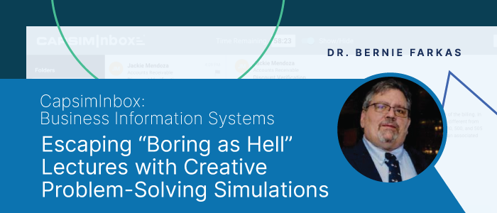 """Escaping """"Boring as Hell"""" Lectures with Creative Problem-Solving Simulations"""