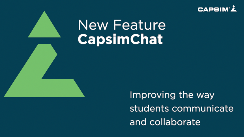 New Feature: CapsimChat