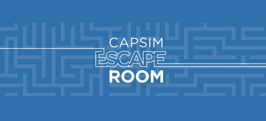 Introducing the Capsim Escape Room™