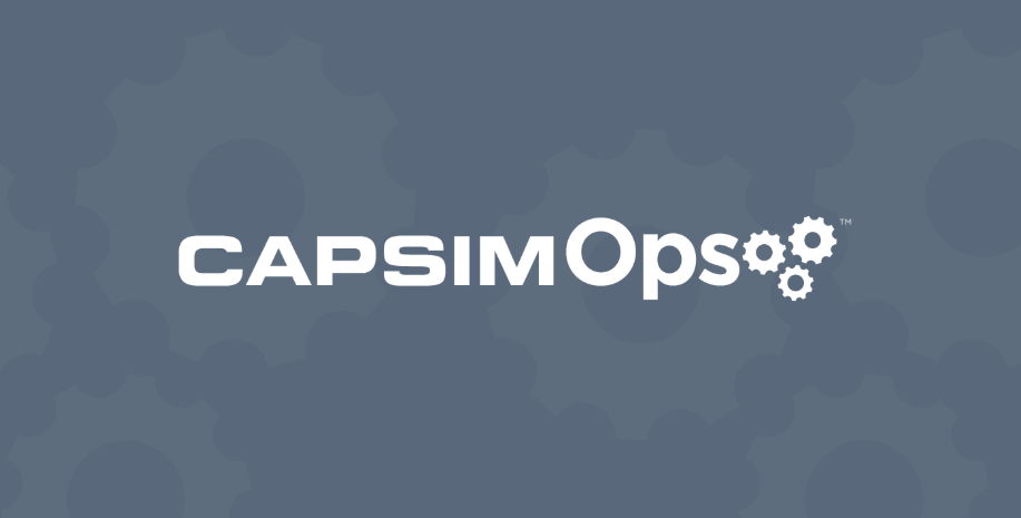 CapsimOps: An effective way to bring operations to life