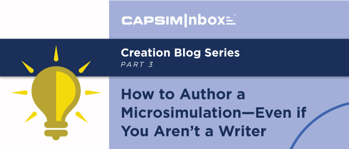 How to Author a Microsimulation—Even if You Aren't a Writer
