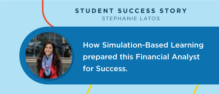 How Simulation-Based Learning Prepared this Financial Analyst for Success