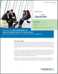 Case Study: DigitalGlobe