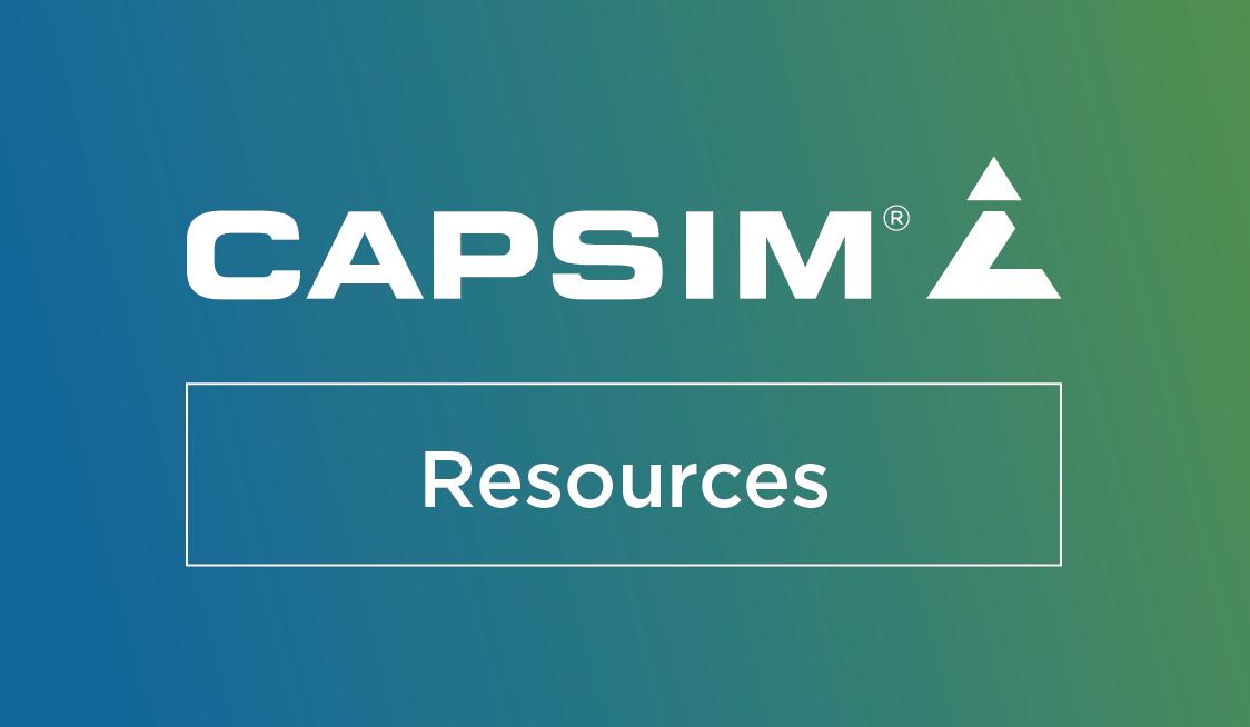 Webinar: Moving your Capsim course online